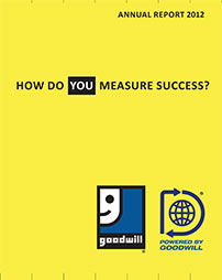 Goodwill Annual Report 2012 Cover