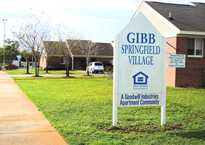 Affordable Housing, Goodwill Bigbend Springfield Village