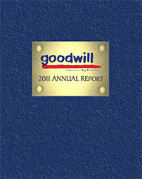 Goodwill Annual Report 2011 Cover