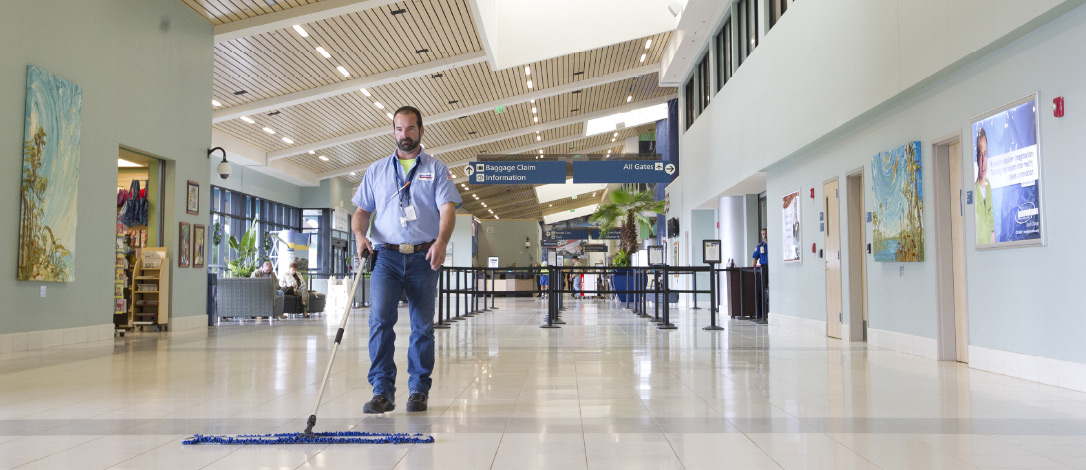 Employer Services, Airport Cleaning