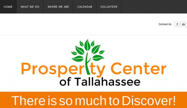 Prosperity Center Website image