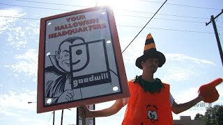 How Goodwill Helps, Halloween Event