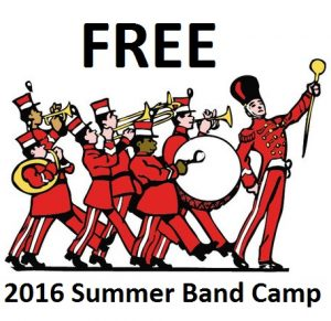 2016 Summer Band Camp