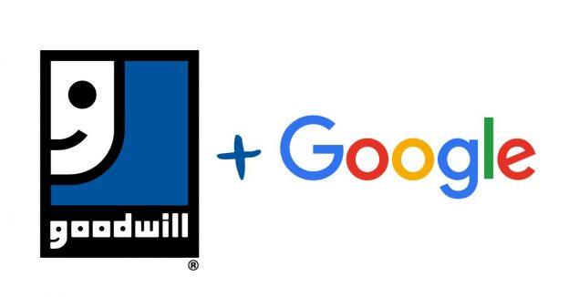 Google + Goodwill
