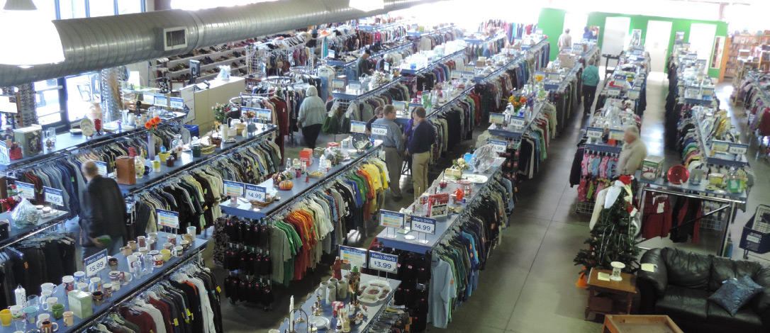 Goodwill Store From Above