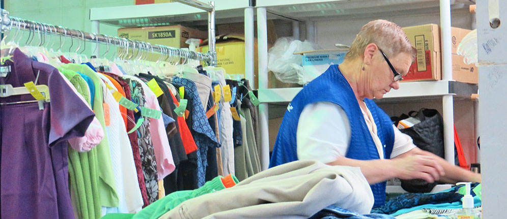 Goodwill Donations Sorting